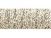 Kreinik Very Fine Metallic Braid #4 11 Meters (12 Yards)-White Gold Hi Lustre