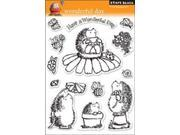 """Penny Black Clear Stamp 5""""X7.5"""" Sheet-Wonderful Day"""