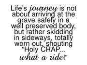 "Riley & Company Funny Bones Cling Mounted Stamp 2.5""""X2""""-Life's Journey"" 9SIA00Y45G4348"
