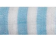 """Mesh Roll 21""""X10yd-Blue Stripe"""