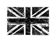"""Tim Holtz Red Rubber Stamp-Union Jack 5""""X3.5"""""""