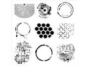 """Image of Crafter's Workshop Templates 6""""X6""""-Well Rounded"""