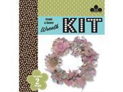 Create A Wreath Kit-Vintage Chic