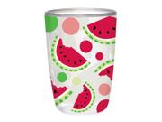 Boston Warehouse Watermelon Insulated Tumblers 16oz S/4