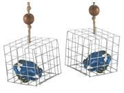 Blue Crab in Fishing Trap Christmas Holiday Ornaments Set of 2 Midwest CBK 9SIA1GE5MB1014