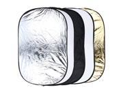 24 x 36 inch 5 in 1 Portable Photography Studio Multi Photo Collapsible Light Reflector 60 x 90cm