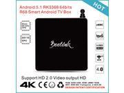 Beelink R68 Android 5.1 TV Box RK3368 64bits Octa core Cortex A53 2G / 16G UHD 4K * 2K HDMI Mini PC Kodi / XBMC / Miracast / DLNA H.265 2.4G & 5.0G WiFi Bluetooth 4.0 Smart Media Player