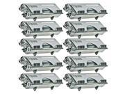 TMP Compatible Brother TN570 Set of 10 Black Laser Toner Cartridges - 67000 Page Yield