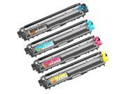 TMP Brother Compatible TN-221 Set of 4 Laser Toner Cartridges: 1 each of Black TN221BK, Cyan TN221C, Magenta TN221M, Yellow TN221Y