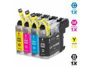 TMP BROTHER MFC-J870DW INK CARTRIDGES (4-PACK) (COMPATIBLE)