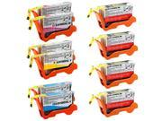 TMP LEXMARK ALL-IN-ONE INTERPRET S405 INK CARTRIDGES (10-PACK) (COMPATIBLE)