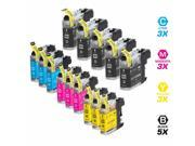INKUTEN BROTHER MFC-J6920DW INK CARTRIDGES (14-PACK) COMPATIBLE