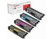 INKUTEN 4 PACK BROTHER HL L8350CDW TONER CARTRIDGES COMPATIBLE