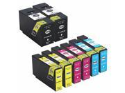 INKUTEN 8 Pack Canon Maxify MB2320 Ink Cartridges COMPATIBLE