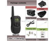 Rechargeable Waterproof LCD Shock & Vibrate Remote Dog Training Collar For One Dog