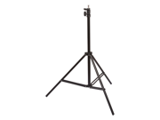 8.5 Feet Heavy duty Cushioned Premium Black Light Stand for Video, Portrait, and Product Photography