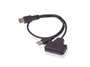 "USB 2.0 to SATA Adapter Cable For 2.5"" HDD Laptop Hard Disk Drive"