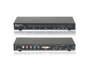 Multi-Functional HDMI + DVI + Component Video ( YPbPr ) + Composite Audio + SPDIF Audio to HDMI + SPDIF Switch Switcher Selector & Converter