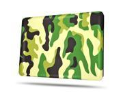 MacBook Air 13 Case - Soft-Touch Plastic Matte Hard Shell Protective Case Cover Skin for Apple MacBook Air 13 Inch A1466 A1369 Camouflage Army Green
