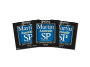 Martin SP Phos. Bronze Acoustic Guitar Strings Medium 13-56 3 Packs - MSP4200