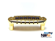 Graph Tech Resomax NW2 Harmonic Wraparound Bridge - String Saver Saddles - Gold