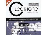 Cleartone Bass Guitar Strings Medium 6445 45 105 1 Pack