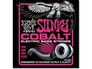 Ernie Ball Bass Guitar Strings - Super Slinky - Cobalt - 4 string Bass - 45-100
