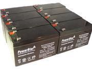 APC RBC105 12V 7Ah UPS Battery Kit - This is an PowerStar Brand-8Pack