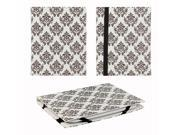 """JAVOedge Vintage Baroque Pattern 6"""" Universal eReader Book Case for the Nook Touch, Glowlight, Kobo Glo, Touch, Kindle"""