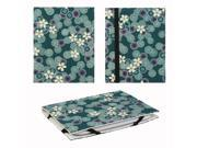"JAVOedge Cherry Blossom 6"" Universal eReader Book Case for the Nook Touch, Glowlight, Kobo Glo, Touch, Kindle (Blue)"
