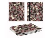 """JAVOedge Cherry Blossom 6"""" Universal eReader Book Case for the Nook Touch, Glowlight, Kobo Glo, Touch, Kindle (Brown)"""