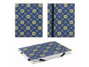 """JAVOedge Golden Daisy 6"""" Universal eReader Book Case for the Nook Touch, Glowlight, Kobo Glo, Touch, Kindle (Blue)"""