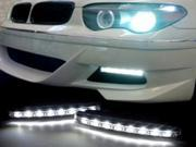 Euro Style 8 LED DRL Daytime Running Light Kit For MITSUBISHI Cordia