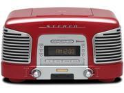 TEAC SL-D930 2.1-Channel Premium Bluetooth Speaker System With CD/Radio (Red)