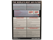 K&N Filters 33-2455 Air Filter 9SIV04Z5637404