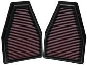 K&N Filters 33-2484 Air Filter Fits 12-14 911 9SIA33D2RE3751