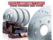 Power Stop K5977 Performance Brake Upgrade Kit 12-13 FOCUS FOCUS (Canadian)