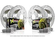 Power Stop K1381-26 Power Stop 1-Click Street Warrior Z26 Brake Kits MUSTANG