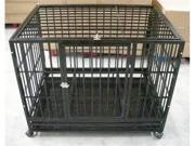 "48"" Heavy Duty Dog Pet Cat Bird Crate Cage Kennel HB"