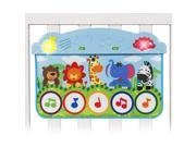 Baby Kick and Touch Musical Piano Crib Playmat Cute Animal Design