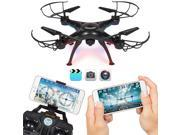 Best Choice Products 4-Channel 2.4G 6-Axis Gyro RC Headless Quadcopter Drone w/ Wifi Camera, Real Time Video - Black