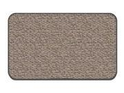 Skid-resistant Carpet Area Rug Floor Mat - Black Ripple - Many Other Sizes to Choose From