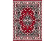 "Home Dynamix Area Rugs: Premium Rug: 7069: Claret Red 3' 7""x5' 3"" Rectangle"