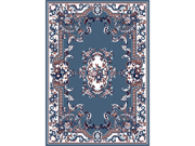 "Home Dynamix Area Rugs: Premium Rug: 7083: Country Blue 7' 9""x10' 8"" Rectangle"