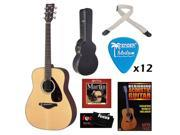 Yamaha FG700S Beginners Level Acoustic Guitar Kit