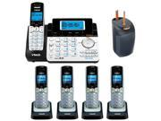 Vtech DS6151 2-line Expandable Cordless Phone with Digital Answering System and Caller ID