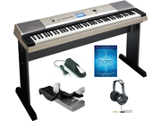 Yamaha YPG-535 88 Portable Electronic Grand Piano Keyboard Kit