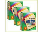 FujiFilm Fuji Instax Instant Film Twin Pack - Two Packs Of 10 (Bundle Of 3)
