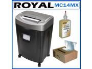 Royal MC14MX 14-sheet Microcut Shredder Kit