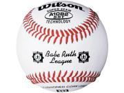 Wilson A1082 Babe Ruth League Tournament Series Baseball 1 Dozen, White